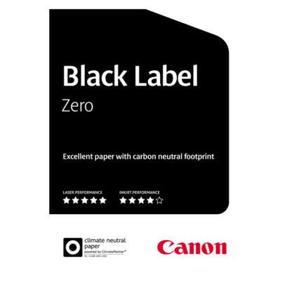 Canon Black Label Zero Fiche